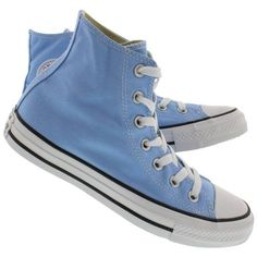 8347694df02bae Converse Women s CT ALL STAR SEASONAL sky sneakers (€58) ❤ liked on  Polyvore featuring shoes