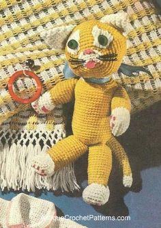 Crochet Pattern for a Cat