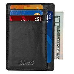 Slim Wallets for Men Best Slim Wallet, Small Business Credit Cards, American Express Credit Card, Front Pocket Wallet, Minimalist Wallet, Slim Man, Card Holder, Thing 1, Iphone