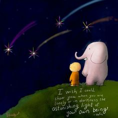 The astonishing light of your own being... Buddha Doodles
