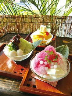 Japanese shaved ice - my favorite for summer
