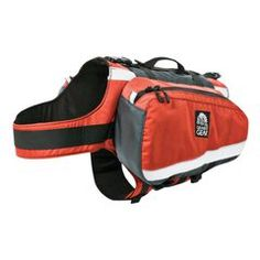 A dog pack!!!  If you are hiking with your dog, have them carry their food and supplies.  Makes the hike it a bit better!