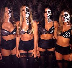 Disfraces para que tú y tus besties combinen en Halloween #halloweendresses