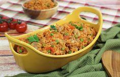 One Pot Chicken & Rice Recipe