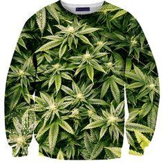 Long sleeve Marijuana shirt