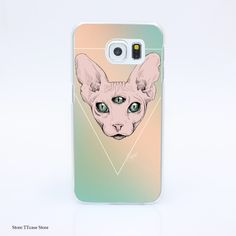 3110G Sphynx 8it Print Hard Transparent Case Cover for Galaxy S3 S4 S5 & Mini S6 S7 & edge //Price: $US $1.57 & FREE Shipping //     #apple