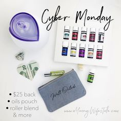Young Living Essential Oils Cyber Monday Deal (goes to tuesday)