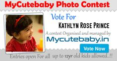 Vote For Kathlyn Rose Prince - MyCuteBaby Photo Contest
