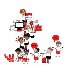 Exo Cartoon, Exo Memes, Kpop Boy, Funny Moments, K Idols, Boy Groups, Chanyeol, In This Moment, Wattpad