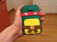 diy ninja turtle felt cover for mini ipad - Google Search