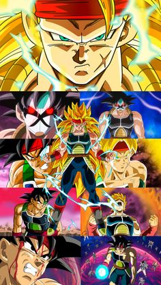 Goku en todas sus faces..  Render SaoDVD