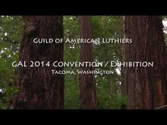 ▶ Guild of American Luthiers 2014 Convention / Exhibition - YouTube