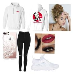 """Jake Paul Merch"" by fewparis on Polyvore featuring Topshop, NIKE and Casetify"