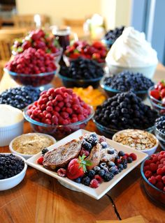 Portage Bay Cafe - yes, I would go all the way across the Atlantic for those delicious berries... :)