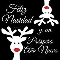 Feliz Navidad y un Próspero Año Nuevo.  @Candidman     #Frases Año Nuevo Candidman Felicitación Navidad Próspero Año Renos @candidman