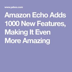Amazon Echo Adds 1000 New Features, Making It Even More Amazing Amazon Echo Tips, Amazon Hacks, Alexa Dot, Alexa Echo, Amazon Alexa Skills, Amazon Dot, Echo Speaker, Technology Hacks, Alexa Voice