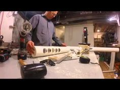 PVC Musical Headboard Timelapse  Milwaukee Makerspace