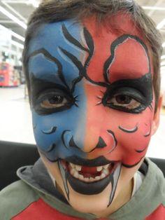 FacePainting Kinderschminken Halloween Filmblut Zombie Monster Pose, Carnival, Painting, Movie, Party, Make Up, Zoo Animals, Kids Makeup, Hair Makeup