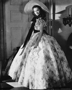 Vivien Leigh as Scarlet O'Hara in my favorite movie of all time, Gone with the Wind.  She was a survivor in a time when women were considered the weaker sex.
