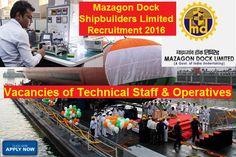 MDL Recruitment 2016 Technical Staff & Operatives