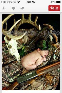 Newborn photo shoot, country perfect!