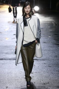 Fall 2013 Trend: Leather Cozies Up (3.1 Phillip Lim RTW Fall 2013)