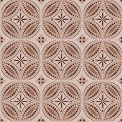 Moroccan Tiles (Brown) - shannonmac - Spoonflower