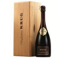 Champagne Krug collection 1989