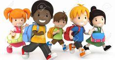 School Kids Running. render of School Kids Running , Quality Time, Education Clipart, School Cartoon, High School History, School Clipart, Kids Running, Education Quotes For Teachers, I School, School Reunion