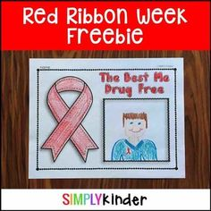 Red Ribbon Week FreeCheck out this great Red Ribbon Week book: Red Ribbon Week Interactive Book for Little LearnersIncluded in this download is:One no prep printable for Red Ribbon Week!  You will also like:   Candy Corn Number Puzzlers Pumpkin Science Let's Plant Pumpkins Interactive Reader Best Me Drug Free Interactive Reader This or That Fall Writing Promts Thanksgiving Printables Bats Interactive Reader Snap Cubes - Fall Edition Pumpkin Craft  Arctic Animals Close Read & Craft Book D...