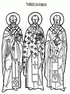 Line Drawing Resources - Teacher Resources - Department of Christian Education - Orthodox Church in America Coloring Pages For Kids, Coloring Books, Church Icon, School Lessons, Painting For Kids, Kids Education, Line Drawing, Teacher Resources, Christian