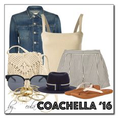 """Favorite Styles of Coachella"" by eula-eldridge-tolliver ❤ liked on Polyvore featuring L'Agence, Dolce&Gabbana, 3.1 Phillip Lim, H&M, Quay, Kendra Scott, Maison Michel and Reef"