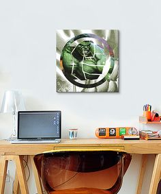 Hulk's Symbol Gallery-Wrapped Canvas Print on #zulily! #zulilyfinds