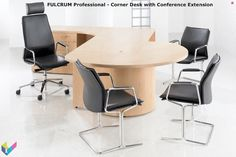 Fulcrum Professional Executive Office Furniture – Executive Home Office Design Executive Office Furniture, Office Furniture Design, Furniture Showroom, Home Office Design, L Shaped Executive Desk, Office Cubicle, Dining Chairs, Refurbishment, Couches