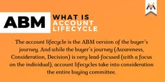 ABM is a lifecycle marketing strategy. The account lifecycle has 7 stages & as accounts move through these stages, the TEAM Framework (Target, Engage, Activate and Measure) can be applied to pivot efforts & positively impact revenue along the way. Accounting, Target, How To Apply, Positivity, Marketing, How To Plan, Target Audience, Optimism, Goals