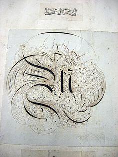 Flickr Photo Download: 1800s Lettering Sketchbook, image 14