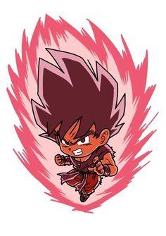 dragon ball dragonball z kaioken son gokuu - Image View - Anime Chibi, Chibi Goku, Dragon Ball Image, Dragon Ball Gt, Graffiti Characters, Pokemon, Fan Art, Otaku Anime, Free Anime