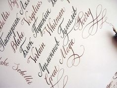 Lettering and Handwriting - The sketch_fragment - Learn Calligraphy