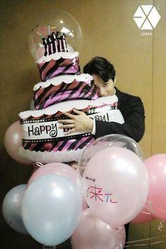 "dailyexo: ""Kai - 180110 Official EXO-L Japan website update Credit: Official EXO-L Japan website. Suho Exo, Kaisoo, Exo Kai, Happy 7th Birthday, Birthday Dates, Exo Birthdays, Mr Destiny, Rapper, Ko Ko Bop"