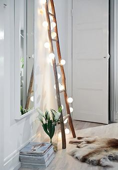 Cute idea with the lights