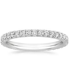 18K White Gold Amelie Diamond Eternity Ring (2/3 ct. tw.) from Brilliant Earth