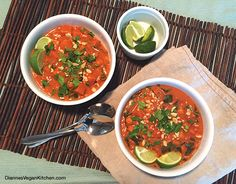 African-Inspired Chickpea Peanut Stew - Dianne's Vegan Kitchen