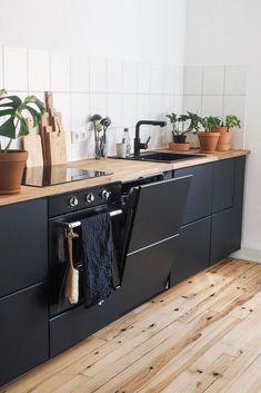37 Top Kitchen Trends Design Ideas and Images for 2020 Part kitchen designs; Open Kitchen Interior, Modern Kitchen Cabinets, Kitchen Tops, Modern Kitchen Design, Kitchen Furniture, Kitchen Decor, Interior Modern, Diy Kitchen, Island Kitchen