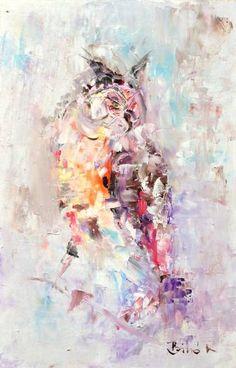 Owl(abstract bird series)