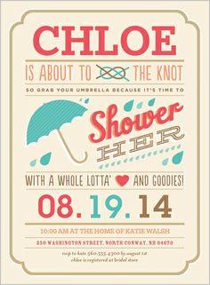 Grab Your Umbrella 6x8 Stationery Card by pottsdesign | Shutterfly