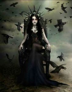 Dark Gothic art can represent a lot of things to different people, as it can be very disturbing with some of its images, and at other times . Dark Fantasy Art, Dark Gothic Art, Foto Fantasy, Dark Art, Fantasy Girl, Dark Beauty, Gothic Beauty, Beauty Art, Fantasy Art