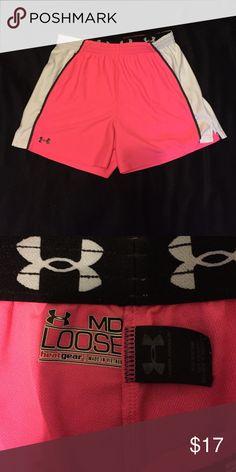 🎉HUGE SALE🎉NWOT under armour shorts NWOT hot pink shorts Under Armour Shorts