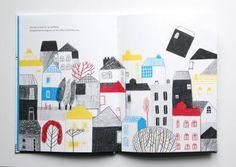 "Catarina Sobral/Davide Cali: ""A Casa Que Voou"" - See more at: www.finefinebooks.com"