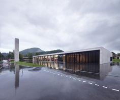 Feuerwache in Österreich / Klares Klötzchen - Architektur und Architekten - News / Meldungen / Nachrichten - BauNetz.de