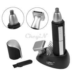 Multifunctional 2-in-1 Ear Nose Hair Trimmer Washable Beard Hair Shaver Clipper #Unbranded